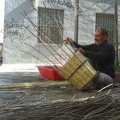 Happy Basket Maker Athens, Straw Bag, Basket, Eyes, Happy, Ser Feliz, Athens Greece, Hamper, Being Happy
