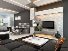 Colores grises para tu sala