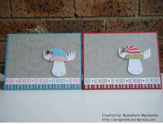 Christmas cards, Stampin' Up! Jolly friends