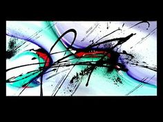 "Abstract acrylic painting démo vidéo by Samuel Chevalier : "" ZEN "" - YouTube"