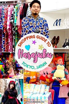 Things to do in Harajuku   Shopping Guide to Harajuku   Japanese fashion   Fashion guide to Harajuku   Shopping Tokyo   The ultimate list of fun and fashionable things to do and see in Harajuku, Tokyo, Japan