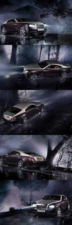 Rolls Royce Wraith!