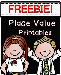 """FREEBIE! PLACE VALUE PRINTABLES.....Follow for Free """"too-neat-not-to-keep"""" teaching tools & other fun stuff :)"""