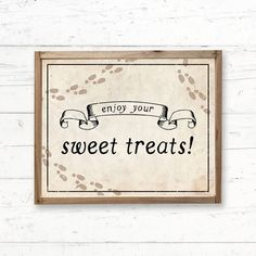 Harry Potter Sweet Treats Printable Sign Bridal Shower Wedding Baby Shower, Decor, Decoration, Sign by CrissyDesignCo Harry Potter Baby Shower, Harry Potter Wedding, Bridal Shower Signs, Bridal Shower Games, Baby Animal Games, Bridal Bingo, Chocolate Frog, Whats In Your Purse, Baby Bingo