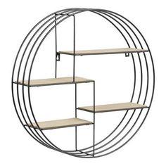 Regal Schwarz - Bergren - Lilly is Love Furniture Design Modern, Tv Unit Furniture, Contemporary Modern Furniture, Tv Wall Decor, Small Kids Room, Kids Room Wall, Hanging Shelves, Shelves, Wall Unit