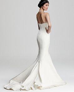 Nicole Miller Sweetheart Mermaid Gown | Bloomingdale's