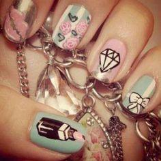 Fun Girly Nails