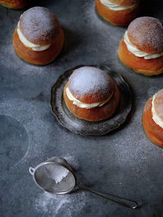 Semlor - Swedish Cardamon Buns — The Boy Who Bakes