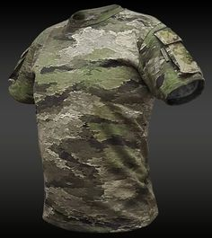 A-TACS iX TACTICAL POCKET T-SHIRT (TPS) | A-TACS iX GEAR | Tactical Gear