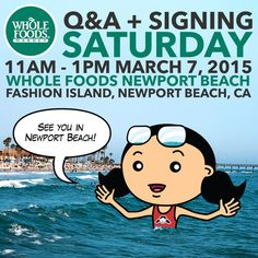 Q&A and Nom Nom Paleo: Food For Humans book signing at Whole Foods Market Newport Beach on 3/7/15! http://nomnompaleo.com