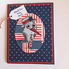 FF16JeanneS Patriotic Bird by Carolinakathy - Cards and Paper Crafts at Splitcoaststampers