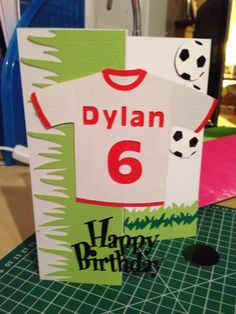 Boys birthday card