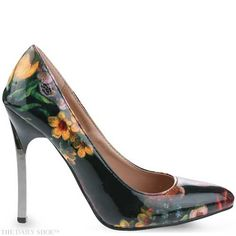 Floral Blade Heels by MISS BLACK. Featured on The Daily Shoe. Tuesday 24 March Including Winner announcement for voucher Errol Arendz Du Sud. Floral High Heels, Winner Announcement, High Street Brands, Cute Heels, Ballerina Shoes, Showcase Design, Guilty Pleasure, Beautiful Shoes, Shoes Online