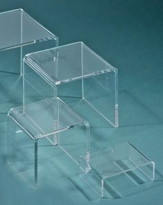 """Up to 18"""" high- Clear Risers #R00"""