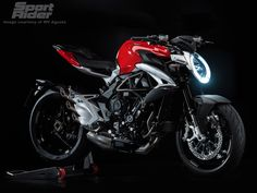 MV Agusta has announced a new Brutale 800 for 2016, with redesigned styling and updates to the engine to meet Euro 4 emissions standards.