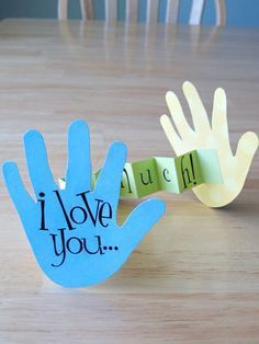 21 Mothers Day Crafts for Kids | I Love You... This Much, Card | Easy Crafts for…