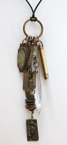 Urban Amulet with knife