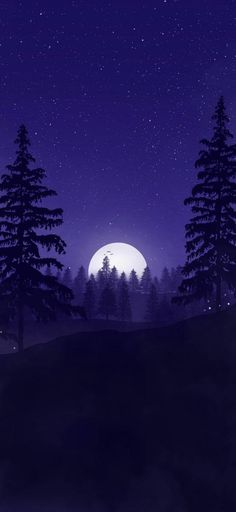 Forest Wallpaper Iphone, Cute Galaxy Wallpaper, Night Sky Wallpaper, Wallpaper Space, Anime Scenery Wallpaper, Landscape Wallpaper, Aesthetic Pastel Wallpaper, Dark Wallpaper, Aesthetic Wallpapers