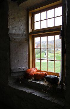 Round Barn Window