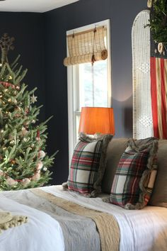 Our Fixer Upper Holiday Home Tour: Master Bedroom — Miss Molly Vintage