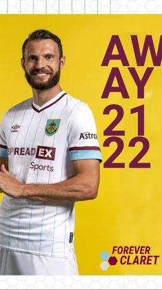 Burnley Fc, English Premier League, Football Kits, Manchester, Polo Ralph Lauren, Soccer Jerseys, Sports, Mens Tops, Soccer Kits