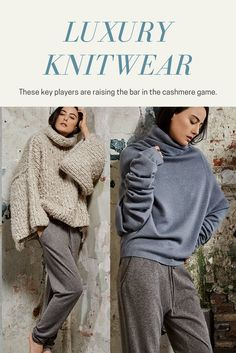 With sweater season approaching, stock your closet with the best luxury knitwear.