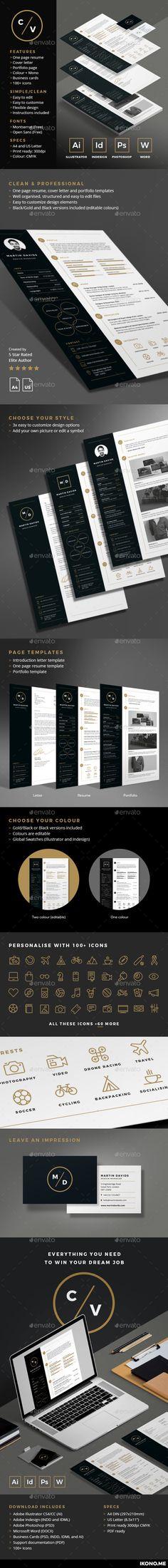 Clean ResumeCV Resume cv Graphics