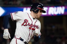With that home run, Freddie has reached safely in 12 straight plate appearances, a new Atlanta Braves record! #ChopOn