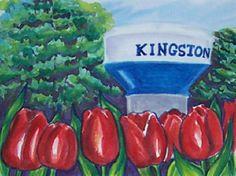 Watertower, Kingston Ontario, by Suzanne-Berton.com Kingston Ontario, Water Tower, Art, Art Background, Kunst, Art Education