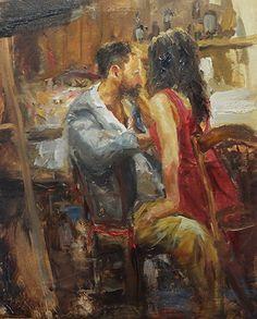 """THE INVITATION"" by Scott Mattlin Oil ~ 20"" x 16"""