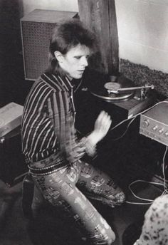 1973 - David Bowie 70s.                                                                                                                                                                                 More