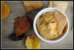 Healthy pumpkin spice hummus recipe