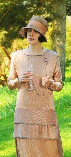 Michelle Dockery as Lady Mary Crawley in Downton Abbey Season 3