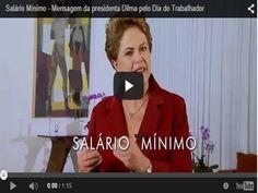 Presidente divulgou material na internet no qual destaca a política dos governos petistas para o trabalhador, além de lembrar a correção na tabela do imposto de renda São Paulo - A presidente Dilma Rousseff destacou, em seu pronunciamento sobre o dia 1º de Maio, quando se comemora o Dia do Trabalho, a valorização do salário…