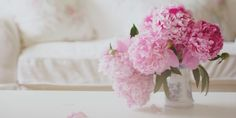 Because nothing makes you smile quite like a fresh bouquet of pink peonies.