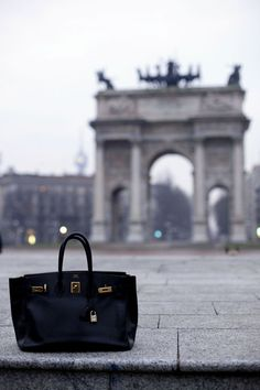 The Hermes Birkin is just such a classic bag. So stylish.