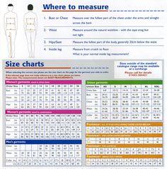 Body measurement conversion table size chart ladies Europe UK