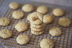 Protein Treats By Nicolette : Toasted Coconut Protein Oatmeal Cookies