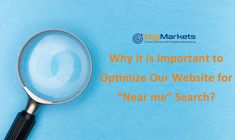 """The more we improve our website's visibility, the more traffic we can get on our website. So, it is important to optimize the website for """"near me search"""" to get more business near your location that . Seo Digital Marketing, Seo Marketing, Google Search Bar, Website Search Engine, Logo Search, Seo Tools, Search Engine Marketing, Seo Company"""