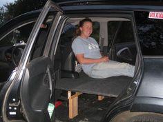 Has anyone built a car bed inside their Rav4 for camping? - Toyota RAV4 Forums : RAV4World.com
