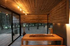 BAK arquitectos builds the casa mar azul in a dense forest Cabin Design, Loft Design, Tiny House Design, Modern House Design, Casas Containers, Small Modern Home, House On The Rock, Loft House, Forest House