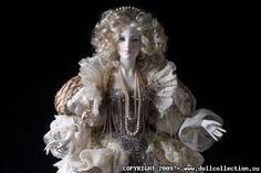 "Art Doll Sasha Khudyakova ""Pearl"""