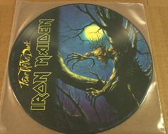 Iron Maiden Fear Of The Dark Picture Disc U.K. Promo Only Import Rare!