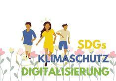 Zukunft Gemeinsam Gestalten - Digitale Vermittlung der SDGs - BildungsHub.wien Workshop, Information And Communications Technology, Sustainable Development, People Around The World, Knowledge, Challenges, Training, Face, Positive Changes