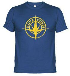 Camiseta Guardianes de la Galaxia - Nova Corps