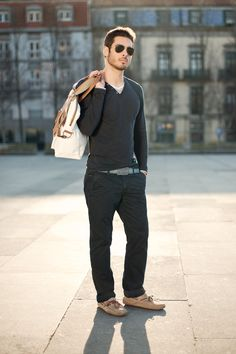 Salsa Street Style: Model is wearing CHINOS.
