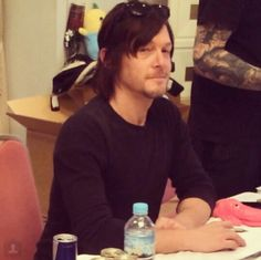 The Reedus look