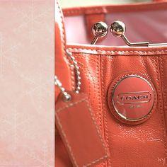 my new coach purse!