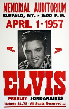 Elvis Presley Memorial Auditorium Concert Poster – Iconic Shop - Online Retailer of T-Shirts, Music, Glassware, Accessories and more! Musica Elvis Presley, Elvis Presley Live, Rock Posters, Band Posters, Event Posters, Vintage Concert Posters, Vintage Posters, Lisa Marie Presley, Rock Concert