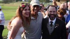 President Obama Crashes California Wedding At Golf Course